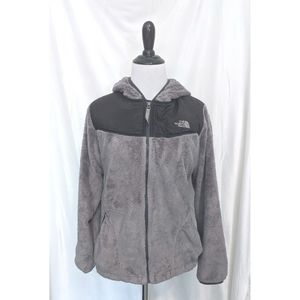 North Face soft fleece coat / jacket